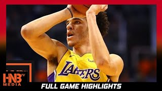 Los Angeles Lakers vs Detroit Pistons Full Game Highlights / Week 2 / 2017 NBA Season