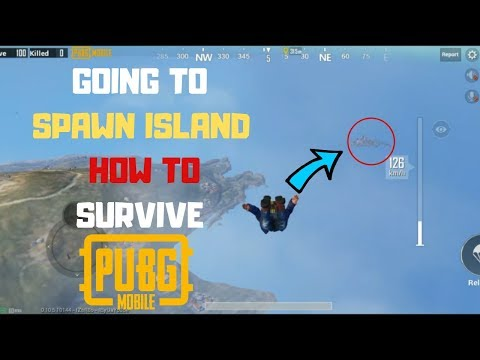I Go To Spawn Island Again Can I Survive From Blue Zone in Pubg