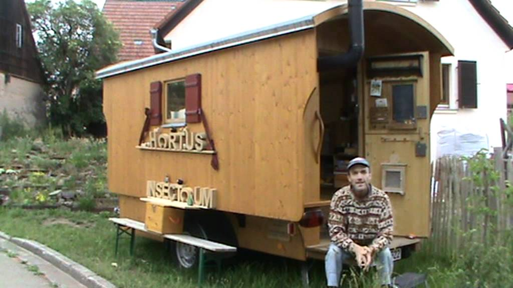 sch ferwagen vor dem hortus insectorum youtube. Black Bedroom Furniture Sets. Home Design Ideas