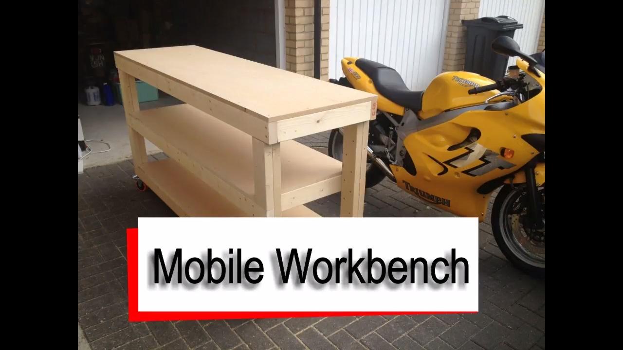 2x4 Mobile Workbench - Free Sketchup Plan - YouTube