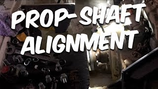 PROP SHAFT ALIGNMENT & ENGINE ROOM UPDATE PART 2 - BUILDING BRUPEG (Ep. 11)