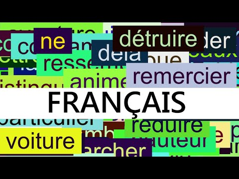 1500 Common French Words with Pronunciation