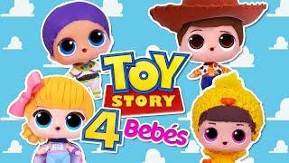 TOY STORY 4  🚀 KAWAII 😍 Woody, Buzz Lightyear, Bo Peep y Ducky -Transformaciones Fantásticas
