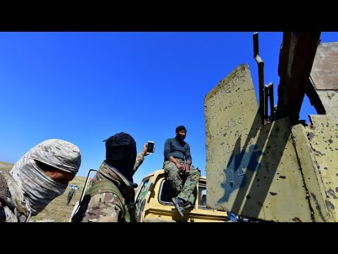 Islamic State group caliphate eliminated, say US-backed Syrian forces