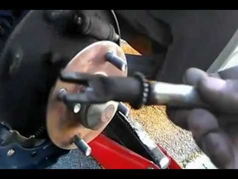 How to replace rear brake shoes on a 06 Nissan Sentra