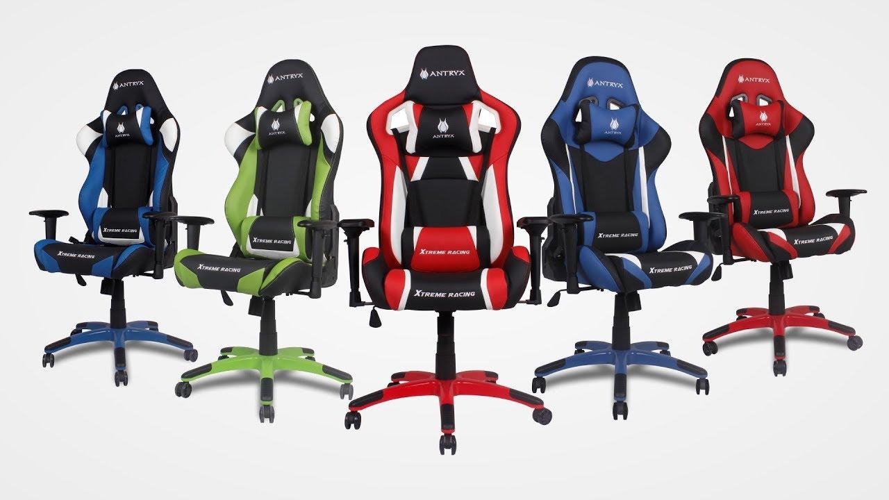 Gamer Certificación Antryx 2 Sillas De Garantía Años Cgs rCxdoeBW
