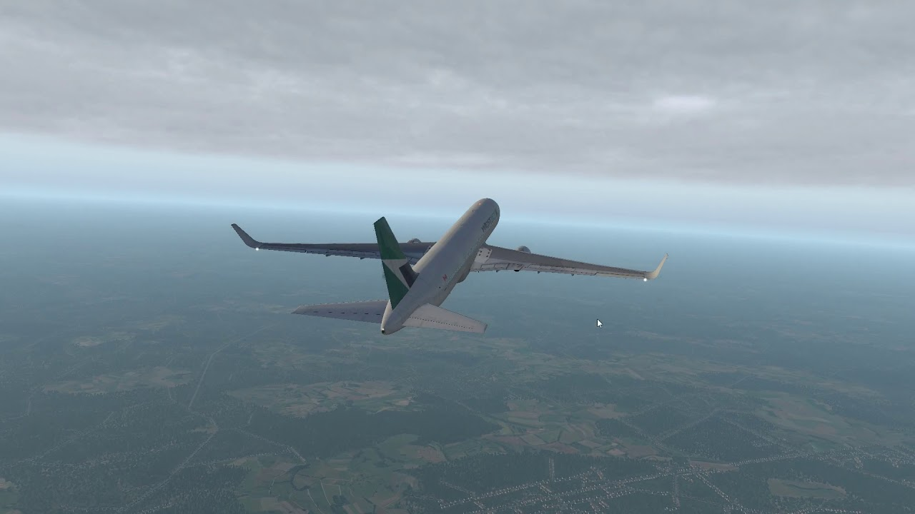 Let's Fly: X-Plane 11 - Boeing 767-300-ER [FlightFactor/VMAX] - Brussels to  Gatwick - Part 2