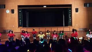 東京都立目黒高等学校 ダンス部 文化祭2017 OP さくらんぼ