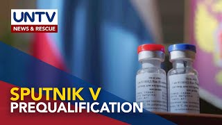 Sputnik V can apply for Certificate of Product Registration in PH once WHO approves prequalification