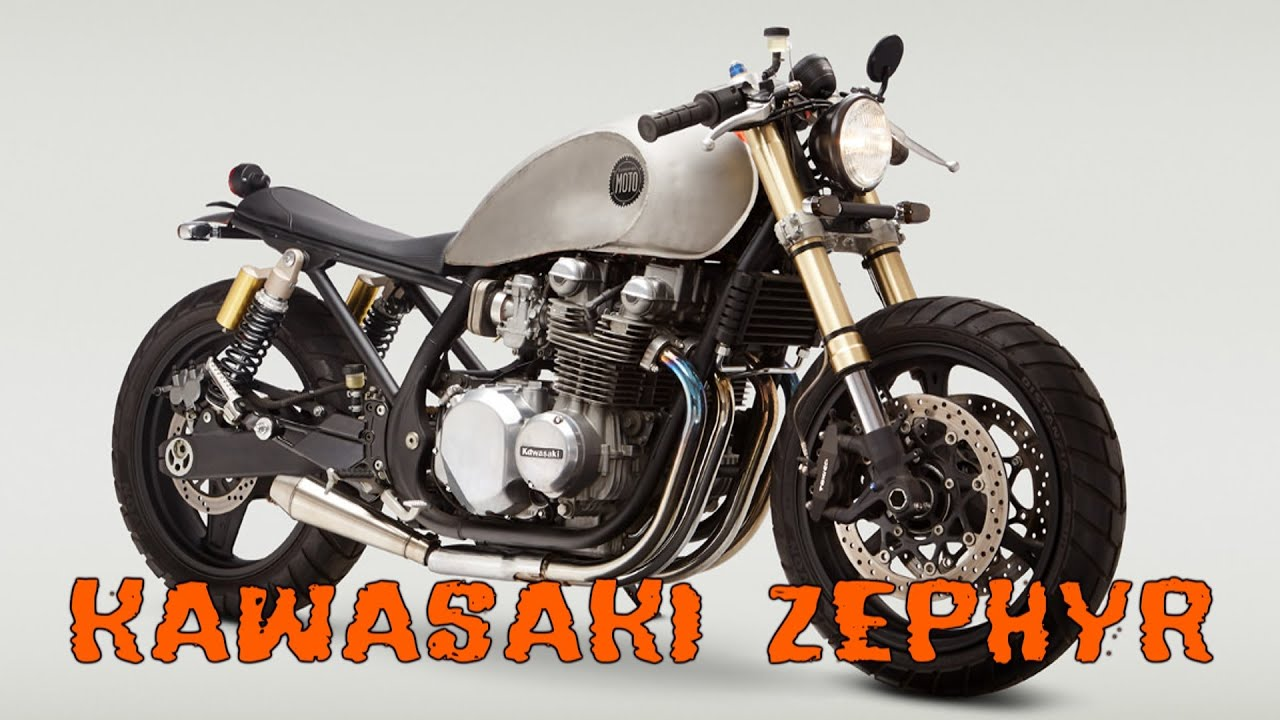Kawasaki Zephyr Zr750 Cafe Racer Youtube