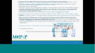 vuclip MCPAP Clinical Conversations Resource and Referral in the Pediatric Primary Care Setting
