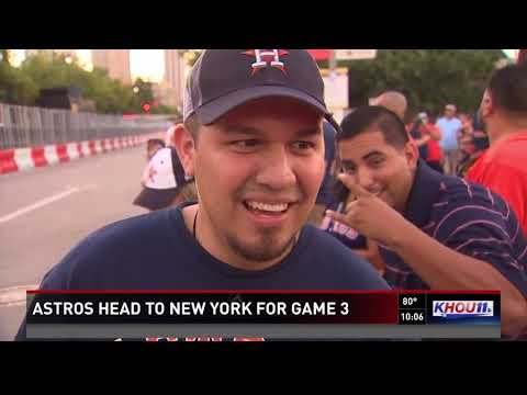 Astros head to New York for Game 3