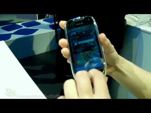 Nokia C7 demo video