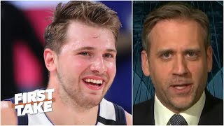 Max Kellerman is sold on Luka Doncic and Kristaps Porzingis this season | First Take