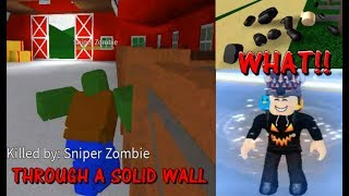 Sniper Zombies in AOZ Knows Hacks (fr) Roblox TOUS OUT ZOMBIES