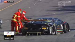 2017 Australian GT Championship Series Adelaide Clipsal 500 Race 3 ( RACE RED FLAGGED )