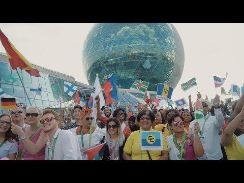 Pharrel Williams - Happy (Astana Expo 2017)