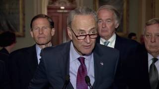 Schumer to Trump: Release transcript of meeting with Russians