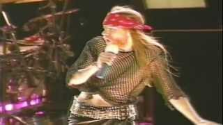 Sweet Child O' Mine - Guns N' Roses (Live In Paris 1992) FULL HD