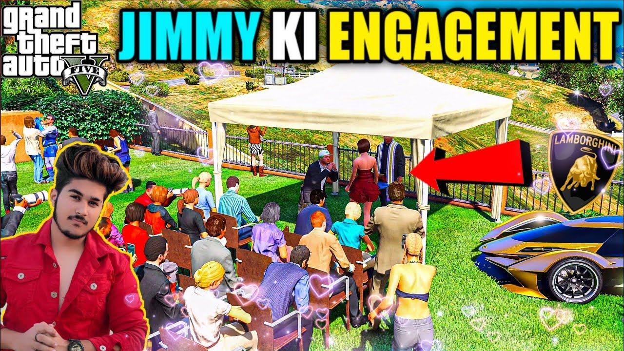 GTA 5 : JIMMY KI ENGAGEMENT HAI AAJ OMG 🔥❤️
