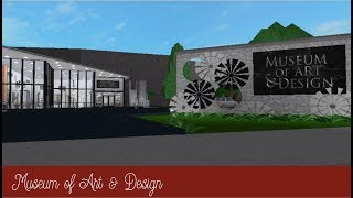 Roblox Bloxburg | Museum of Art & Design