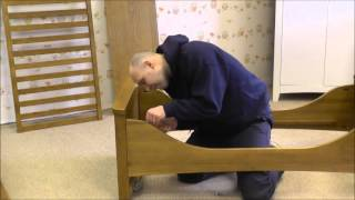 How to change a baby's Silver Cross Canterbury cot into a bed - By Jade Baby Care Thumbnail
