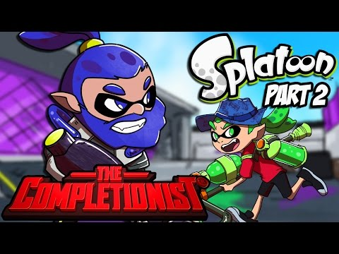 Splatoon Part 2: Multiplayer - The Completionist Review