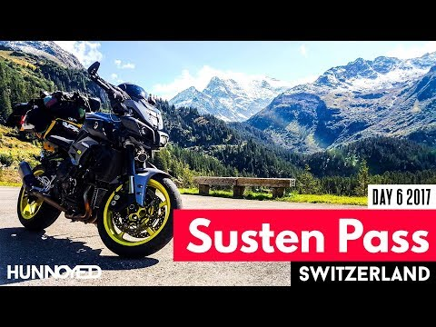 Susten Pass Switzerland Euro Trip Day 6 Riding in the Alps on my Yamaha MT10