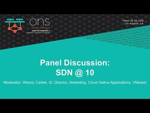 Keynote Panel: SDN@10