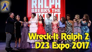 Wreck-It Ralph 2 presentation highlights during Animation panel at D23 Expo 2017
