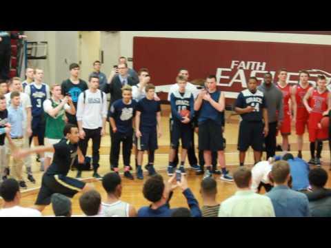 2017 NCCAA Slam Dunk Contest - #12