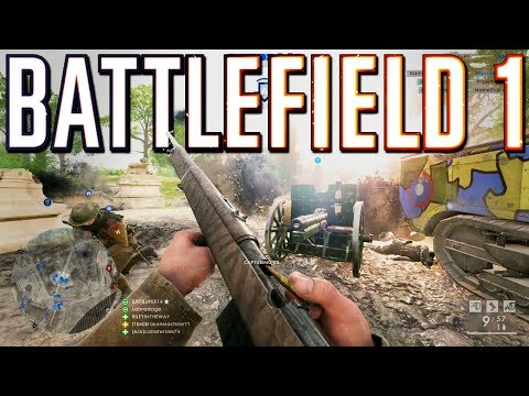 Battlefield 1: Back To Back Beasting (Xbox One X Multiplayer Gameplay)