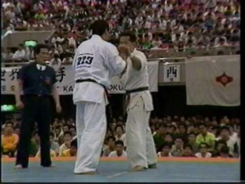 Kyokushin karate 極真空手 衝撃KO 角田(正道会館)VS井口