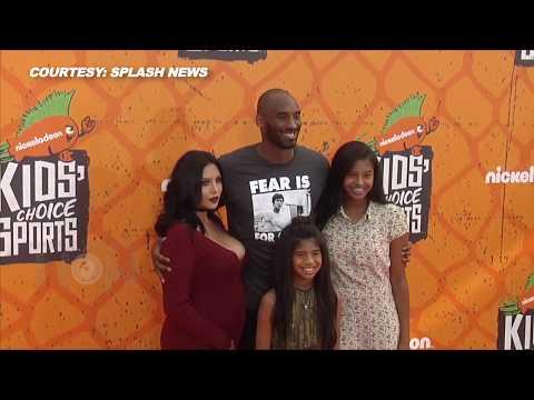 Kobe Bryant, Vanessa Bryant With Their Girls | Nickelodean Kids Choice Sports Awards 2016