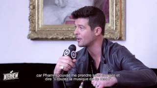 Robin Thicke - Interview! OFIVE