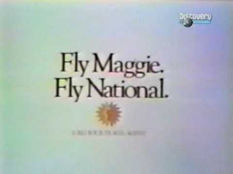 FLY MAGGIE'S TWO 747's TO NEW YORK (NATIONAL AIRLINES)