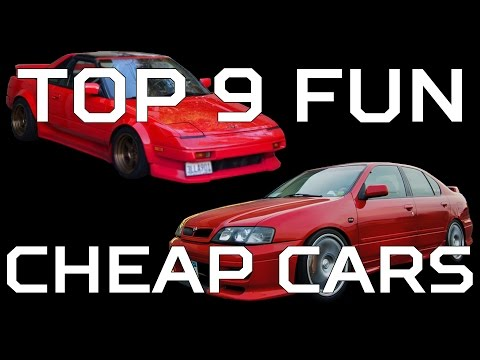 9 Fun Cheap Cars