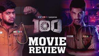 100 Movie Review by  Vj Abishek | #Atharva | #HansikaMotwani | #Open Pannaa