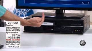 DVD/VCR Recorder Combo with 1080p Upconversion