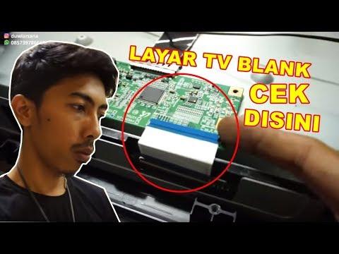 Cara Mudah Layar TV Rusak Blank VLOG152