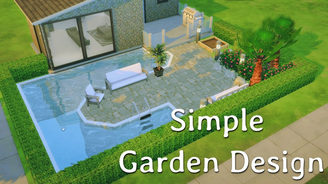 Simple Garden Design  The Sims 6