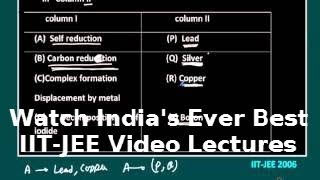 metallurgy lectures for iit