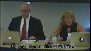 School Committee Meeting 6/22/17