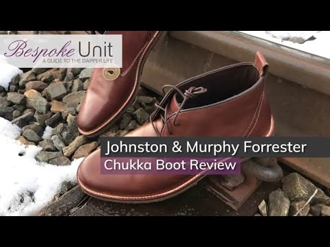 Johnston & Murphy Forrester Chukka Boot Review: A Semi-Formal Boot With Incredible Comfort