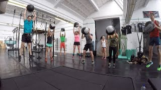 CrossFit Class Warmup with Tabata