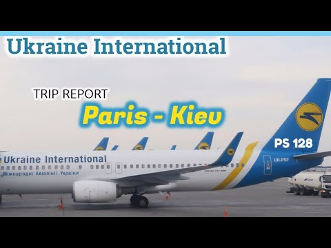 TRIPREPORT | Paris To Kyiv | Ukraine International Airlines - Tamil Vlog