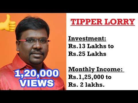 Tipper Lorry or Truck Business Plan And Ideas in Tamil
