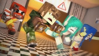 Minecraft: FIVE NIGHTS AT FREDDY'S NO MC DONALDS! c/ Moonkase e Lívia