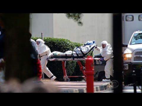 Second U.S. Ebola patient arrives safely at hospital