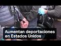 Aumentan deportaciones en Estados Unidos - Trump - Denise Maerker 10 en punto